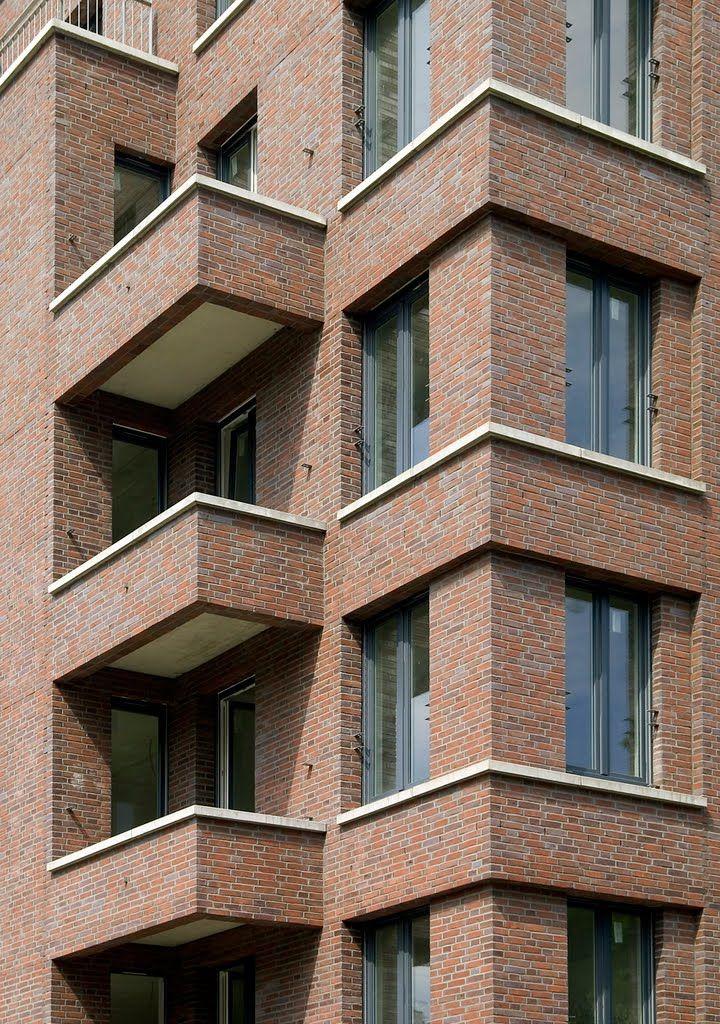 Fassade Wohnanlage Voltastraße