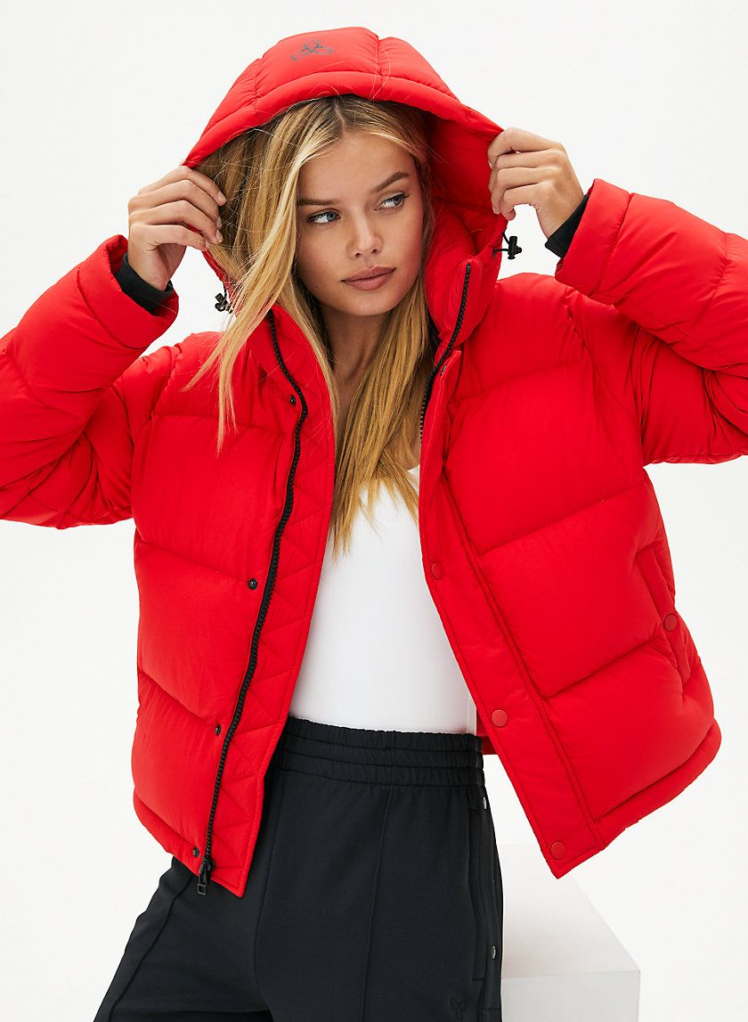 The Super Puff Shorty Red Puffer Jacket Super Puff The Super Puff [ 1147 x 840 Pixel ]