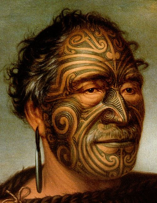 Maori Body Art: Mike Tyson's Tattoo: What The