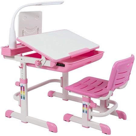 Children S Desk And Chair Set For Kids Work Station