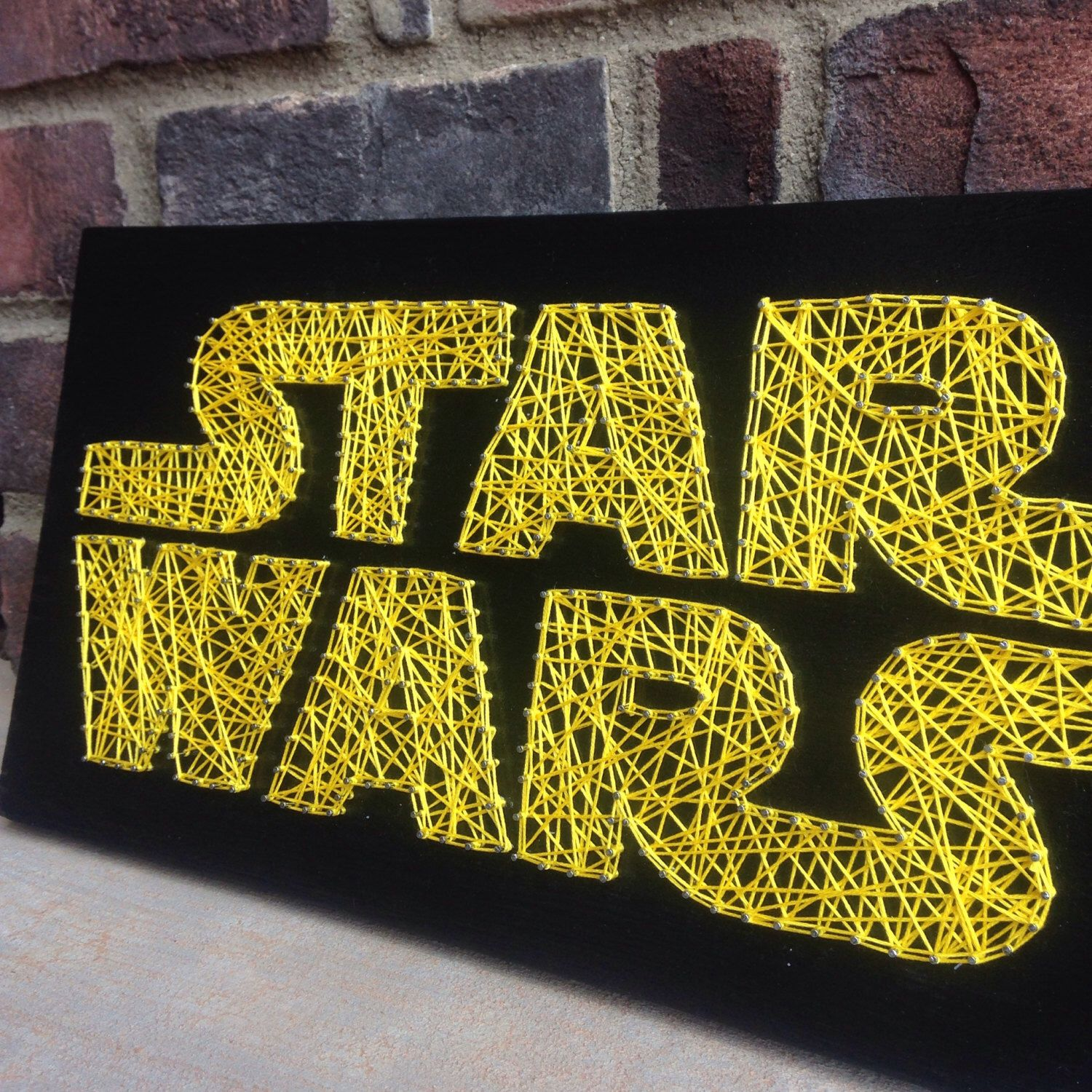 Star Wars Inspired String Art Board wooden sign home and living ...