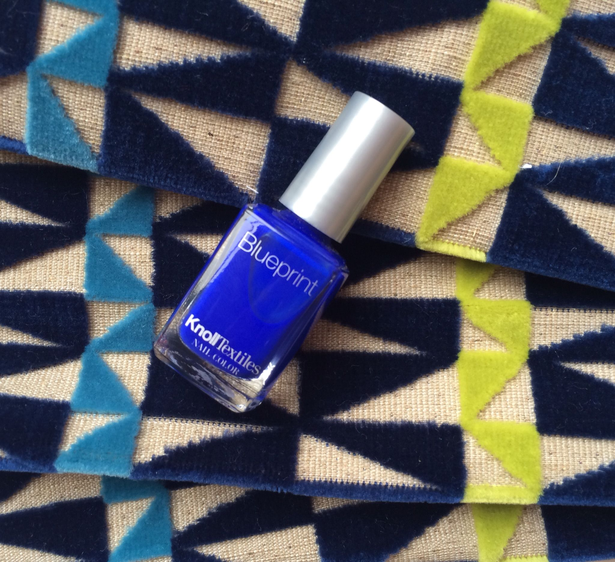Blueprint nail polish from knolltextiles httpdesignythings blueprint our new nail color is inspired by our tower grid upholstery in color blueprint and by dazzling blue a pantone color trend for malvernweather Image collections