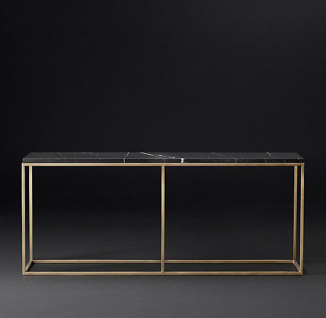 Nicholas Marble Console Table Marble Console Table Modern Console Tables Console Table