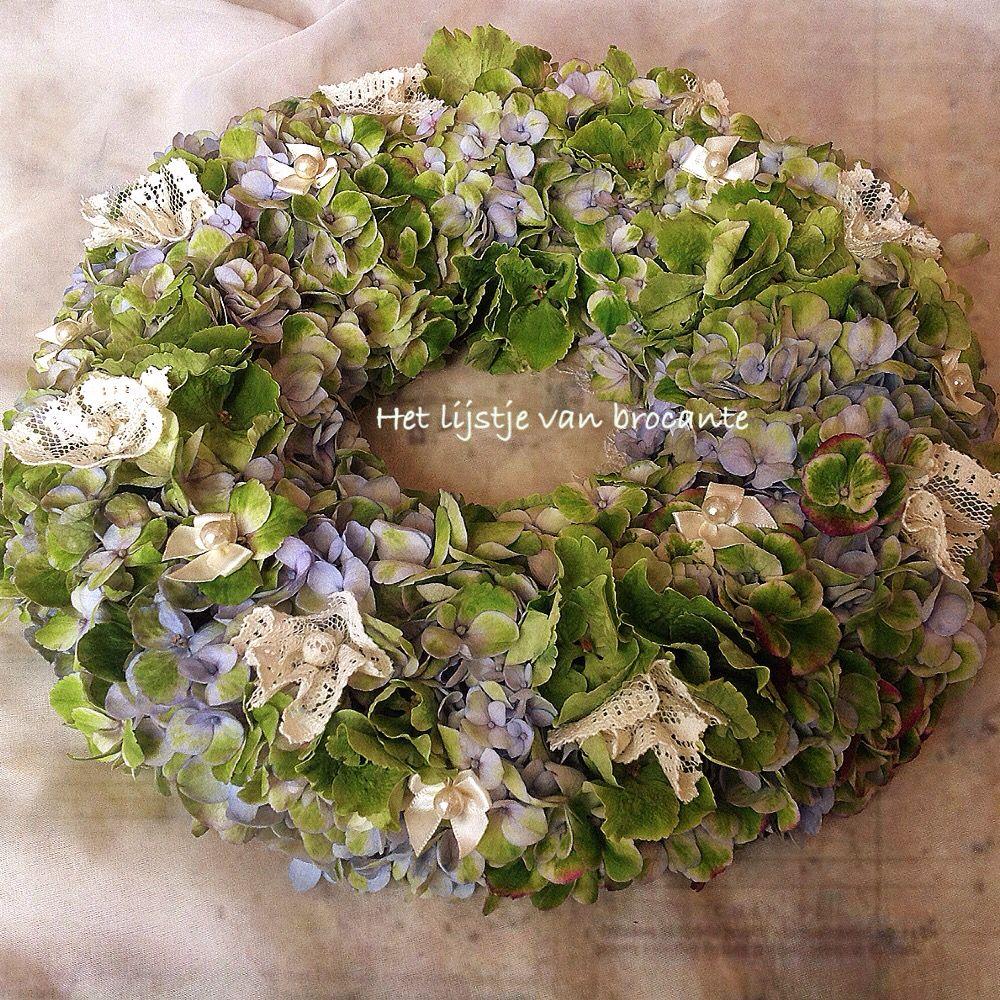 Homemade wreath by Silvia Hokke