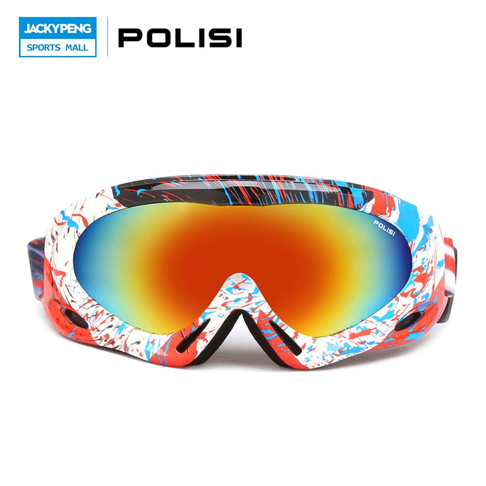Polisi Children Kids Winter Skiing Eyewear Windproof Snowboard  # Muebles Lacados Gaete