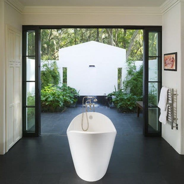 Inspiration And Ideas  Modern Luxury Bathroom And Modern Impressive Luxury Outdoor Bathrooms Design Decoration