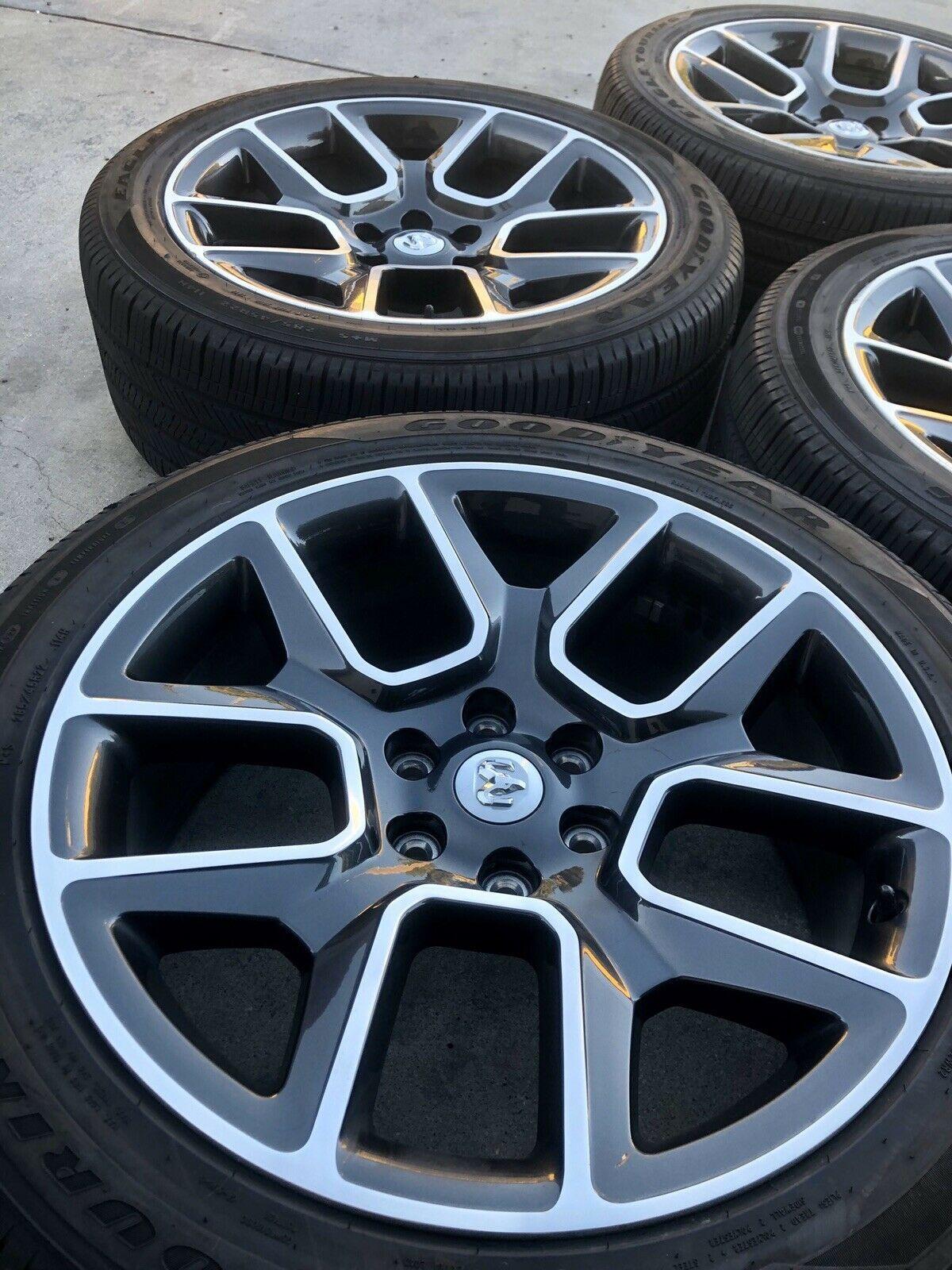 2020 Ram 1500 24 Inch Wheels : wheels, Dodge, 1500,
