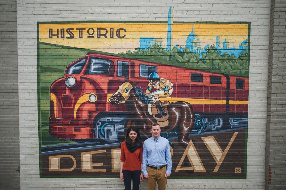 Joyfull engagement photo session in Old town Alexandria #engagement #photo #session #photography #mantasphoto #gocrazy