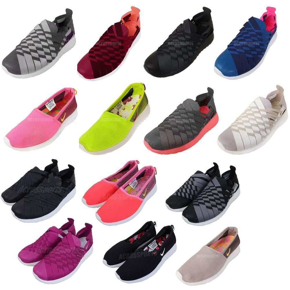 Nike Wmns Rosherun Rosherun Slip On / Woven 2014 Womens Casual Shoes Pick 1