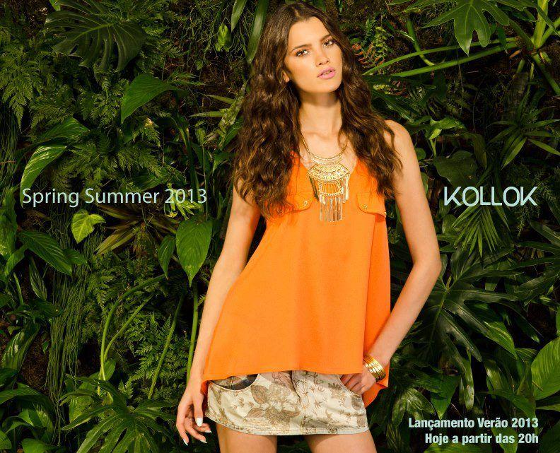 Cliente: KOLLOK | Passos | Summer | 2013Modelo: Fernanda Zib Stylist: Mizael Ramos  Fotografo: Érico Andrade