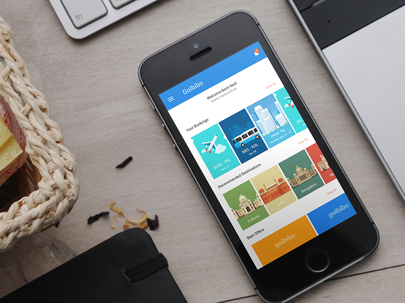 Since I'm planning on applying to be a part of the goIbibo team in 2016 as an Android developer/UX designer, I've started to put up a redesign of their current app with a uniform approach to both i...