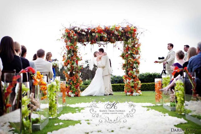 wedding ceremony decor altars canopies arbors arches and chuppahs. Black Bedroom Furniture Sets. Home Design Ideas