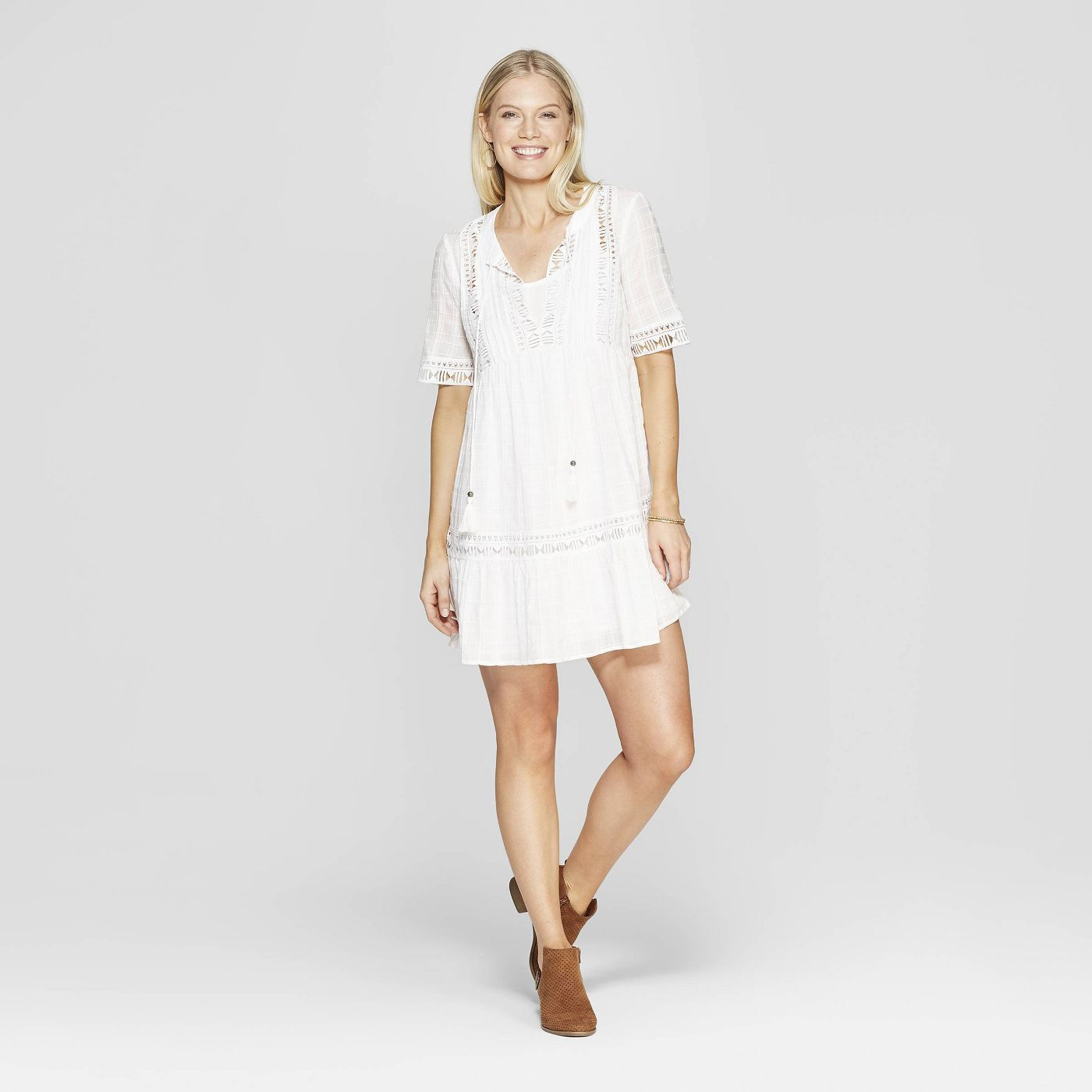 15 Pretty Summer Dresses Under 50 Bit Bauble Midi Shift Dress Mini Shift Dress Cold Shoulder Shift Dress [ 1400 x 1400 Pixel ]