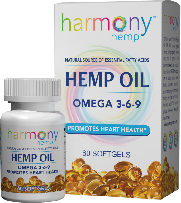 Omega 3 6 9 Heart Health Hemp Seed Oil Softgels Harmony Hemp Hemp Oil Hemp Seed Oil Essential Fatty Acids
