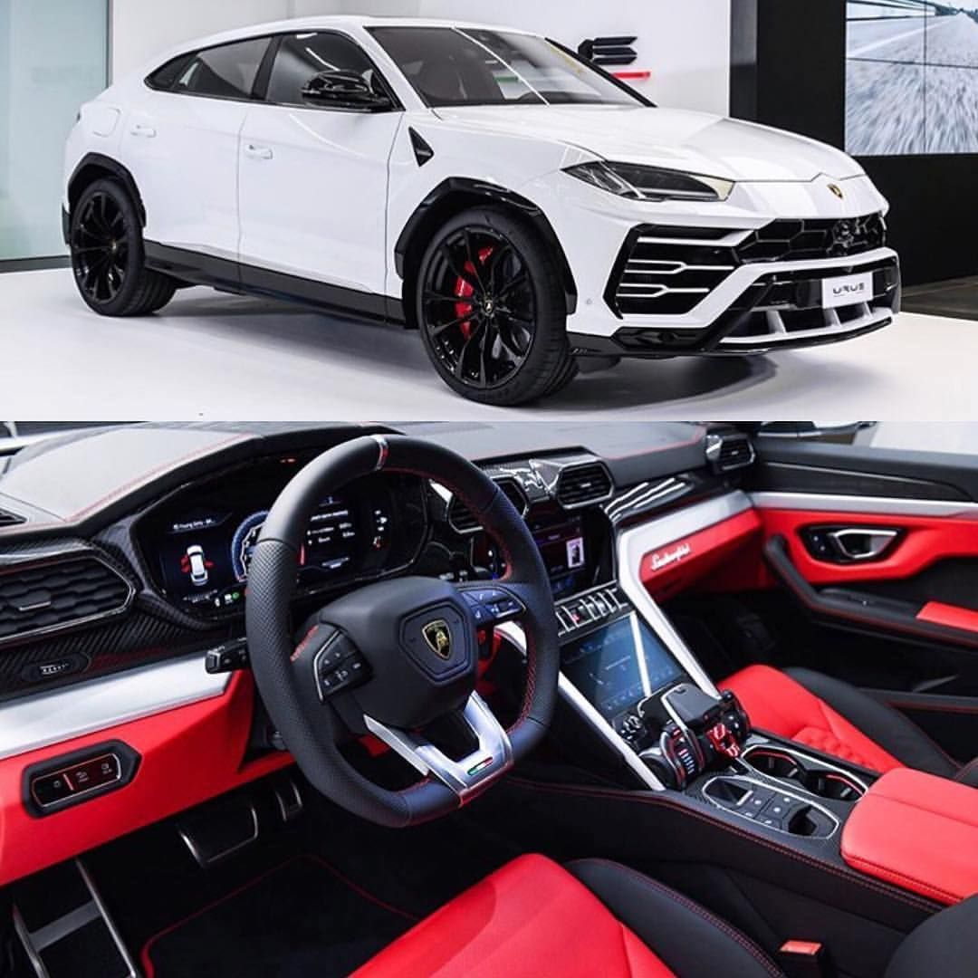 The new Lamborghini Urus , David Watson