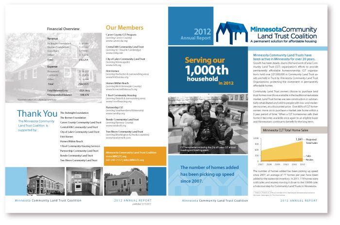 Visual Voice Portfolio 4 Page Nonprofit Annual Report Design