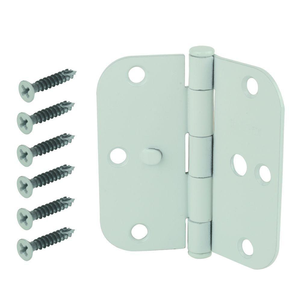 Everbilt 312 in white 58 in radius security door
