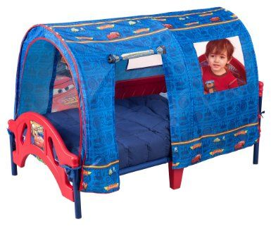 Disney Pixar Cars Tent Toddler Bed For 18 Months To 5 Years Of Age Or