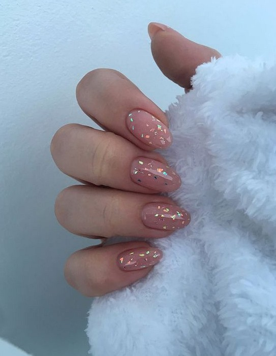 38 Stunning Star Nails Make You Cool In 2020 With Images Almond Acrylic Nails Short Acrylic Nails Star Nails