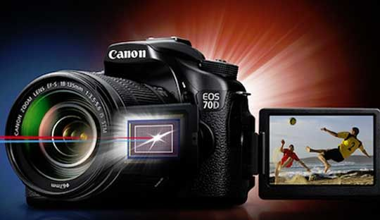 Canon 70D able to record 14-bit RAW video using Magic Lantern