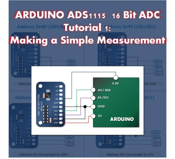 Introducing A Low Cost and Precise Arduino Measurement The ADS1115