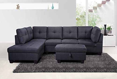 Surprising Esofastore Sectional Sofa Set Modern Left Facing Tufted Squirreltailoven Fun Painted Chair Ideas Images Squirreltailovenorg
