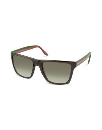 247dc3fc72c Save on Gucci GG 3535 S 5D6 5M Brown Green Red Grey Aqua from the UK s  leading fashion eyewear store! This item comes complete with original  manufacturer s ...