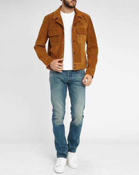 Comment porter une veste en daim homme