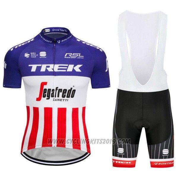 570c822fb 2018 Cycling Jersey Trek Segafredo Fuchsia White Red Short Sleeve and Bib  Short
