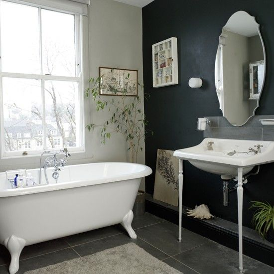Black And White Traditional Bathroom | Traditional Bathroom Design