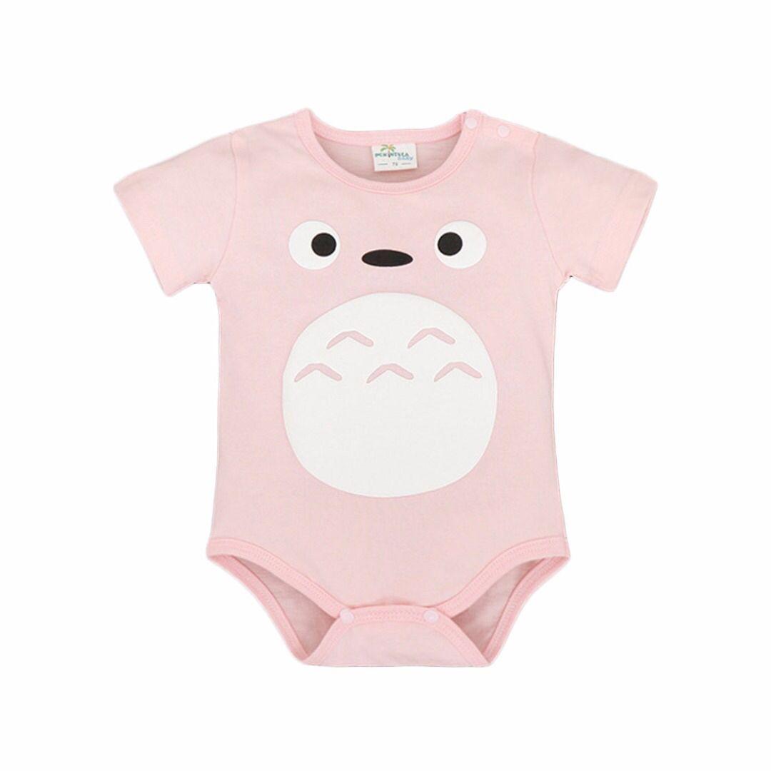 Baby Girl S Cute Totoro Bodysuit In Pink 33 Discount Patpat Mom