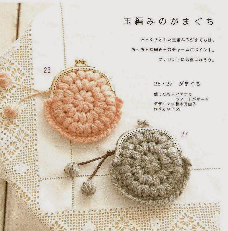 Todo crochet | Explicacion, Monederos y En español