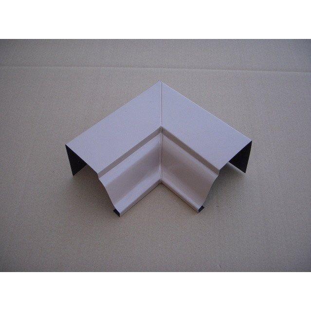 Angle Intérieur Pour Gouttière Aluminium Beige Rosé Scover