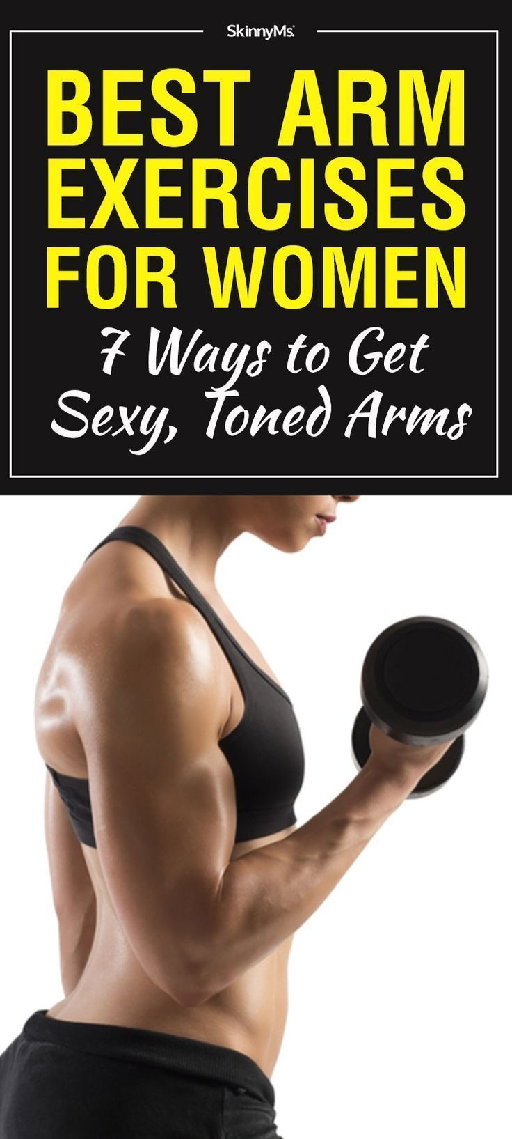 Whether you want to show off tight arms in a sexy gown, or simply grow stronger, these 7 best arm exercises for women are the perfect way to get started. #exerciseathomeforwomens #300workout Whether you want to show off tight arms in a sexy gown, or simply grow stronger, these 7 best arm exercises for women are the perfect way to get started. #exerciseathomeforwomens #300workout Whether you want to show off tight arms in a sexy gown, or simply grow stronger, these 7 best arm exercises for women #300workout