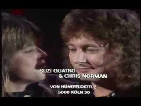 Suzi Quatro Chris Norman Stumblin In 1978 Norman Beautiful Voice Chris