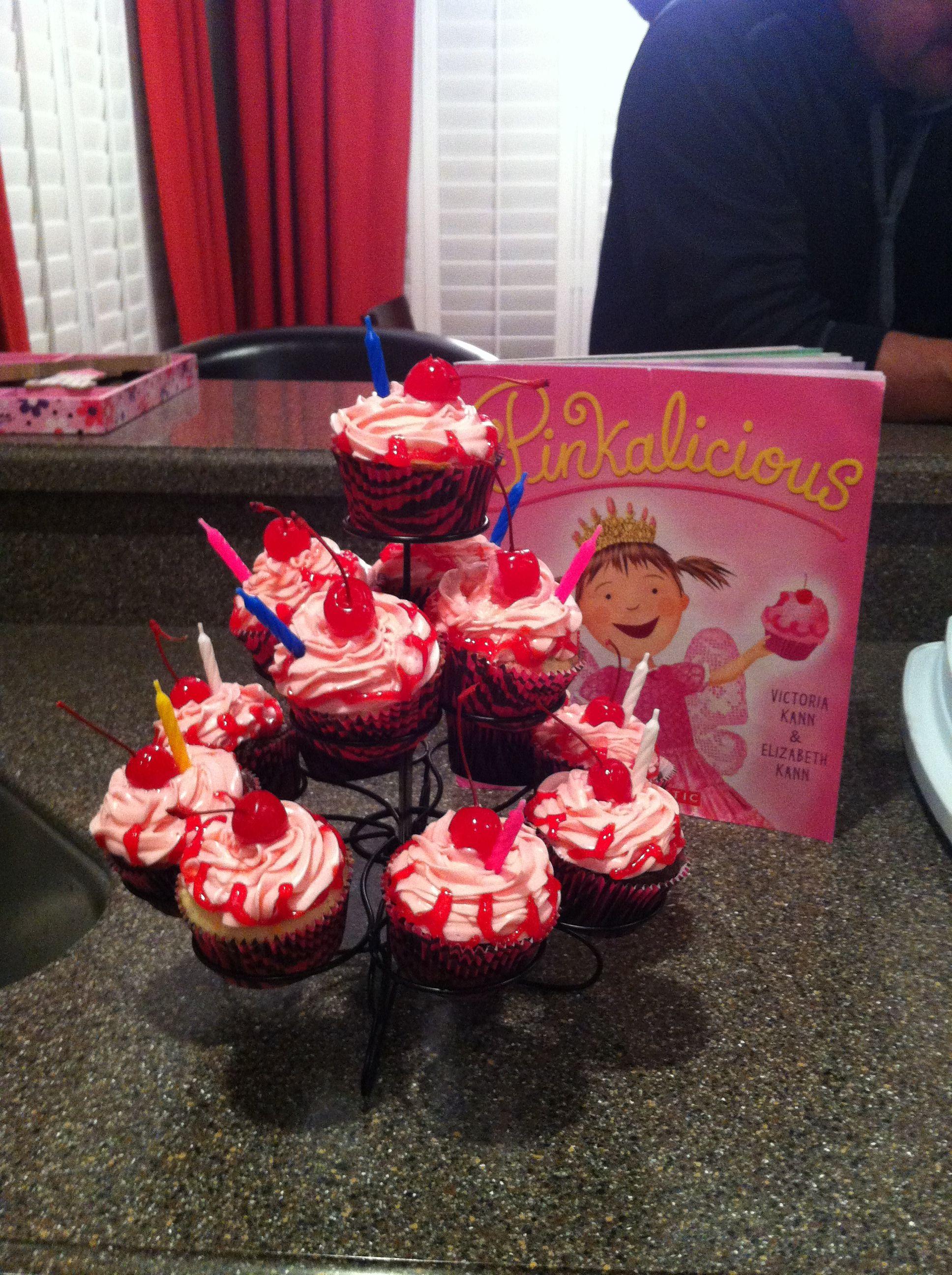 Pinkalicious cupcakes | Yeah I make stuff... | Pinterest