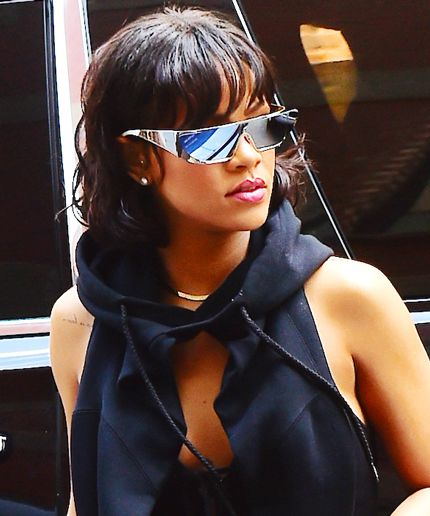 8d4720d823 Rihanna Fenty X Dior sunglasses style fashion candid