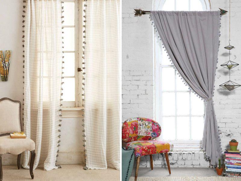suaves coisas imagem cortinas para fazer para decorar sua sala - ideas de cortinas para sala