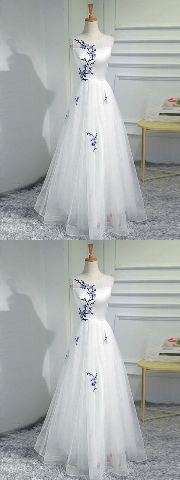 2018 Elfenbein Abendkleid Modest Günstige Langes Abendkleid # VB2035 #modestprom