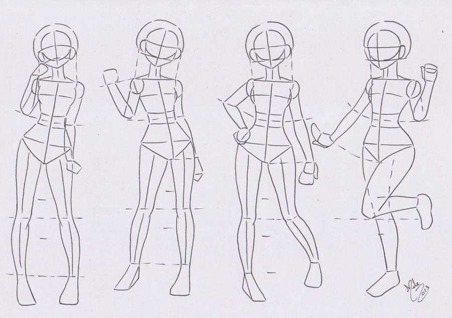 27+ Anime body drawing practice ideas in 2021