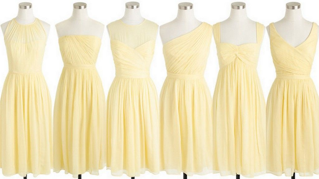 Yellow Bridesmaid Dress Ideas Style Inspiration Design Real Planner Advice By Lisa Yellow Bridesmaid Dresses Yellow Bridesmaid Dresses Short Yellow Bridesmaids