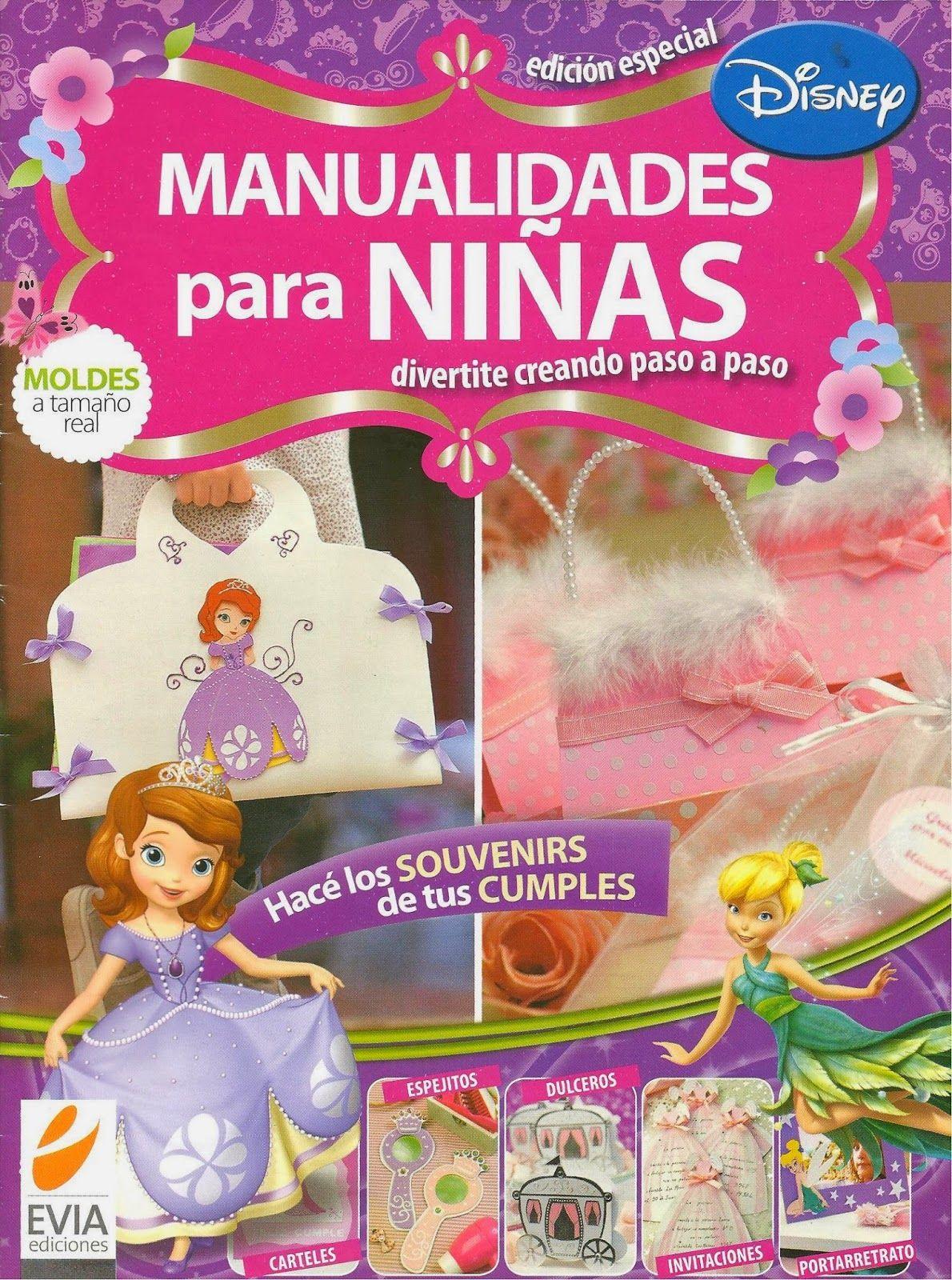 Revistas de manualidades Gratis: Revista Manualidades para niñas ...