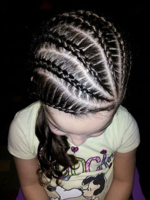cornrows hairstyles kids