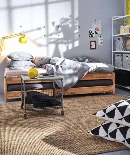 Ikea Schlafzimmer Online Planen Small bedroom, Ikea bed