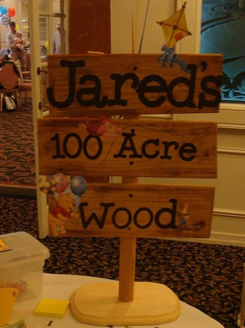 Winnie the Pooh First birthday party!