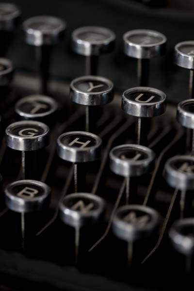 Home Schwarz Weiss Fotos Schreibmaschine