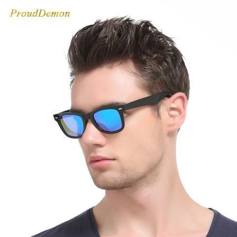 ed84011d8f5 2018 Fashion Sunglasses Men Polarized Sunglasses Men Driving Mirrors  Coating Points Black Frame Eyewear Male Sun Glasses UV400