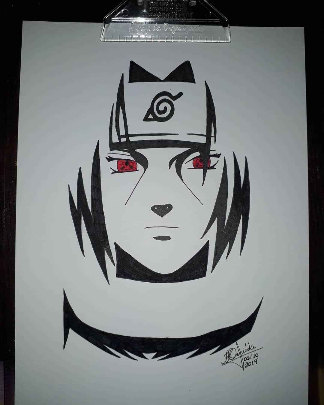 Uchiha Itachi Blackandwithe Naruto Itachiuchiha Uchiha Faartebrasil Faart Itachi Uchiha Art Naruto Sketch Drawing Naruto Sketch