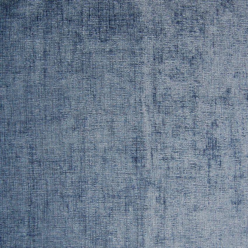 Blue Bell Blue Solid Velvet Upholstery Fabric #velvetupholsteryfabric