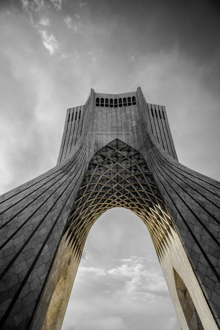 Azadi Tower, Tehran, Iran by Pooyan91 | Outer SpaceS \u0026 PlaceS ...